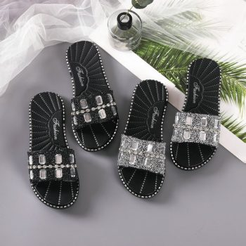 Rhinestones Studded Casual sandals for women 1852 o008