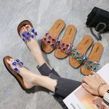 Beaded Casual Sandals for Women 1853 bulk o014