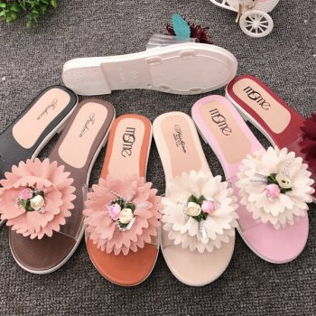 New Casual Sandal for Women with Flower J026