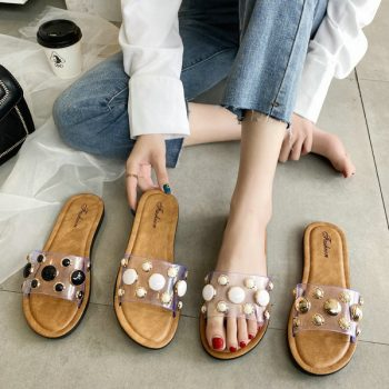 Beaded Casual Sandals for Women 1853 o011