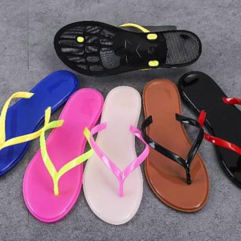 Classic Jelly flip flops for Women z014
