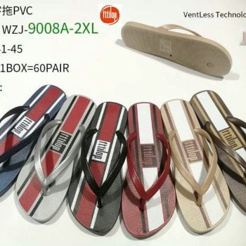 Classical PVC flip flops men s009