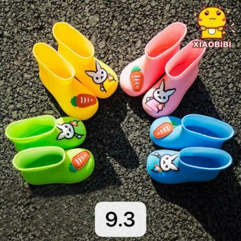 Cute Rabbit Kids' Rain Shoes z004