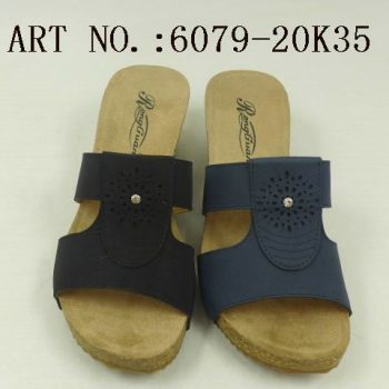 Comfortable Slip on Wedge Sandals for Women m011