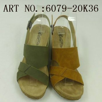 Cheap slip on wedge sandals for Women m014