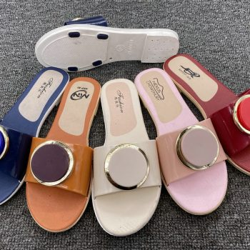 Round Buckle Casual Sandals for Women J020