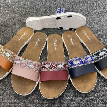 Rhinestones Casual Sandals for Women J023