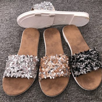 Sequins Casual Summer Sandals for Women J016