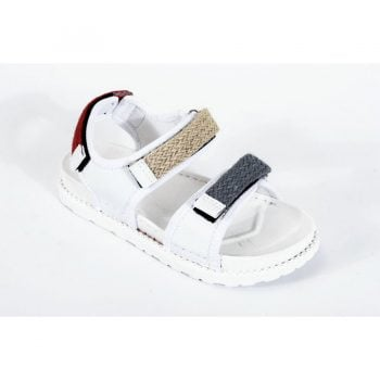 White Casual Sandals men n002