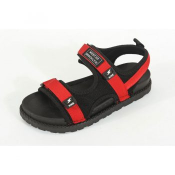 Red Straps Men's casual sandals n006